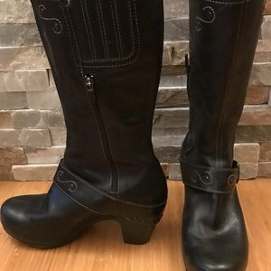Black Dansko Boots Size 40